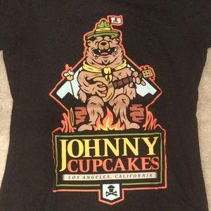 NWOT Johnny Cupcakes shirt